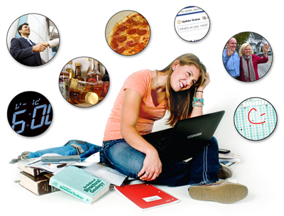 student confused between multiple extracurricular activities