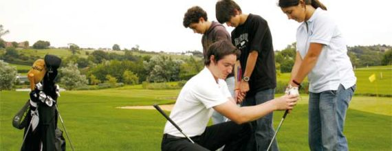 Golf course for Student