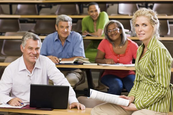 group of students over 50