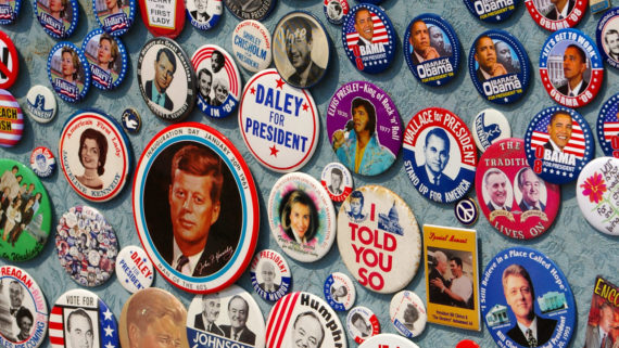 president campaign posters