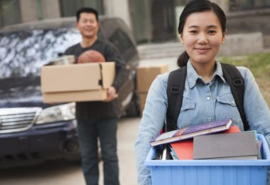 sending your child off to college