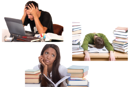 stressed students
