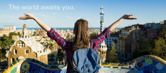 The world is awaits you.