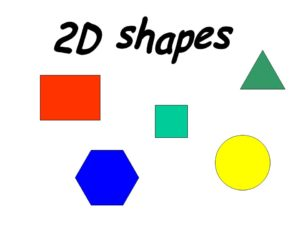 Here are some artistic ways you can teach 2D shapes in Kindergarten
