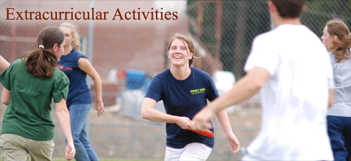 extracurricular activities to get involved with in college