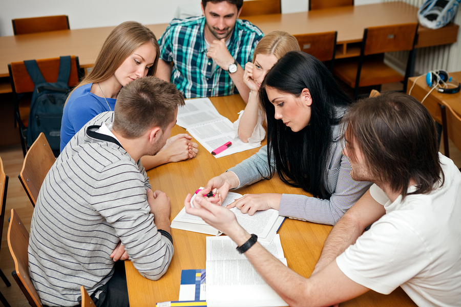Group assignments for students