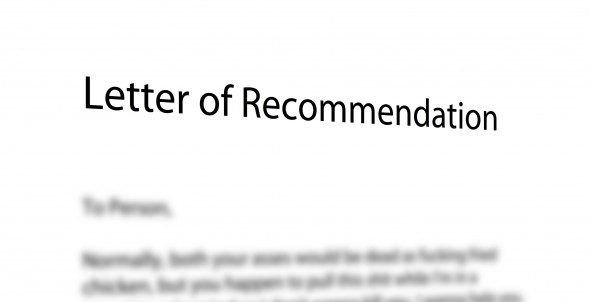 3 tips for getting powerful letters of recommendation for