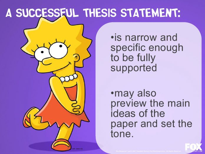 hot to write a thesis statement