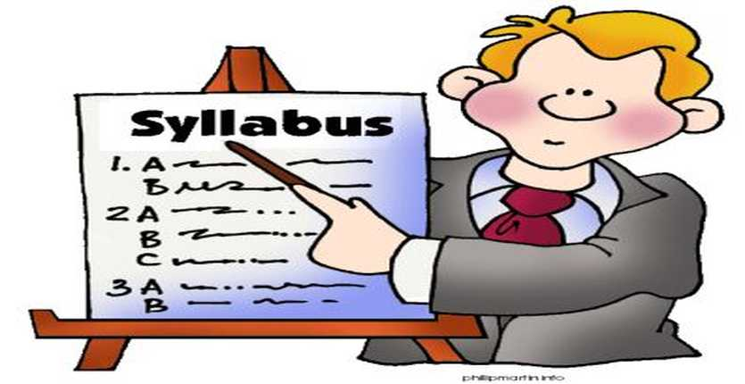 The Importance Of The Course Syllabus Start School Now