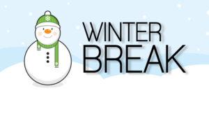 Winter Break Tips for High Schoolers
