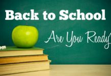 back to school, are you ready