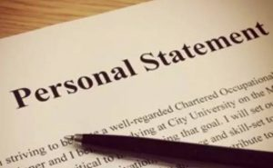 Writing a Personal Statement: What's It All About?