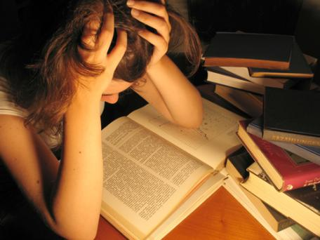 stressful student