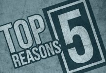top 5 reasons